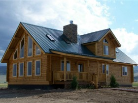 Milled Log Home Pictures