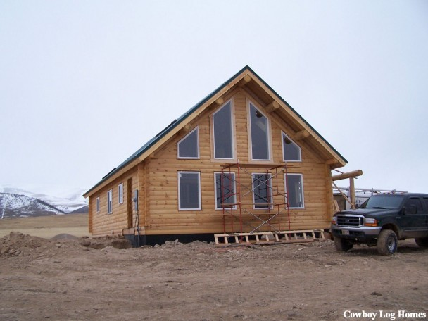 The Chalet Log Home Photo