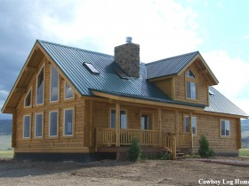 Milled Log Homes