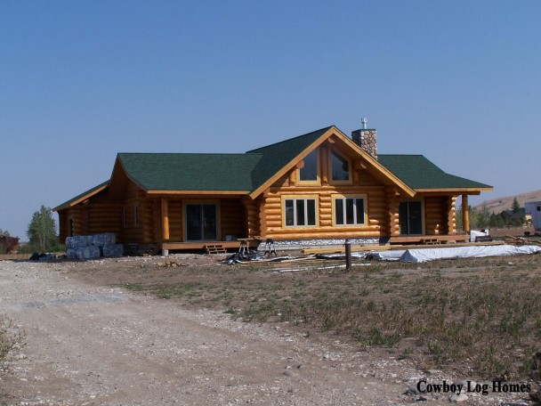 Hand Crafted Home Cowboy Log Homes