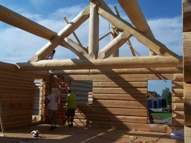 Douglas Fir King Truss
