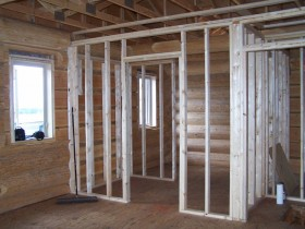 Days 12 and 13 ~ Interior Framing