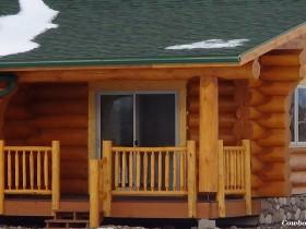 Log Railing and Decks