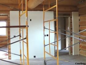 Sheetrock of Interior Walls