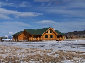 Log Home Completed