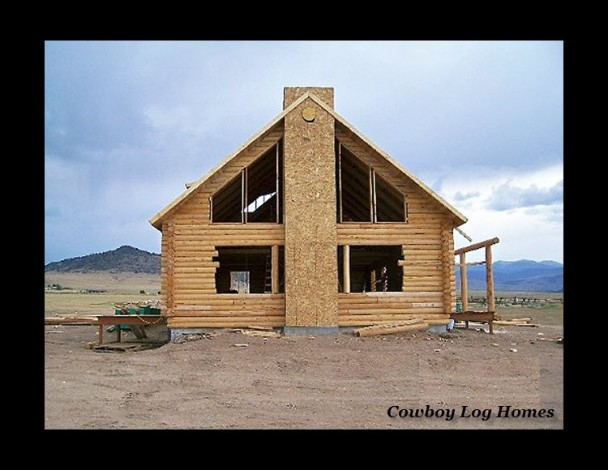 Ennis Montana Milled Log Home