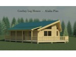 Alaska Floor Plan 888 Square Feet