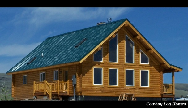 Shining Mountains Montana Log Home