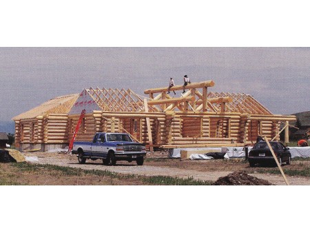 Construction Time Line for New Log Homes
