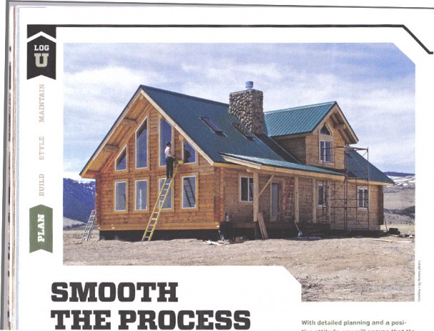 Cowboy Log Homes Magazine Feature