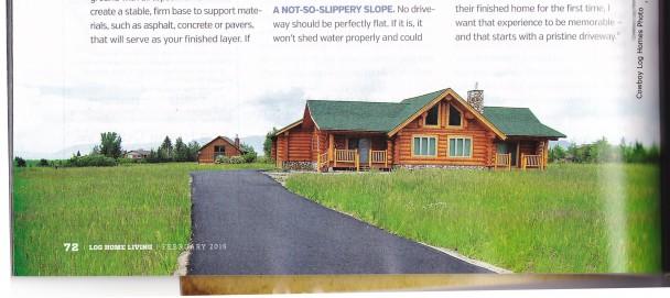 New Log Home