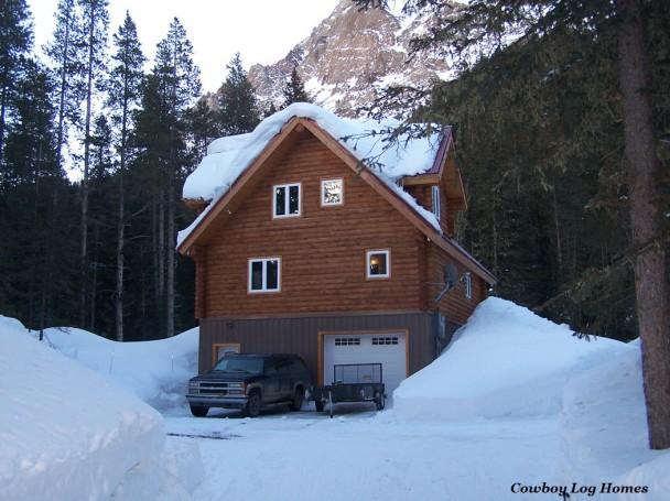 9 Inch Swedish Cope Log Home