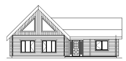 Cameron Front Elevation