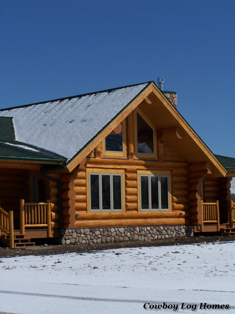 Contrasting Handcrafted Log Homes Part 1 Cowboy Log Homes