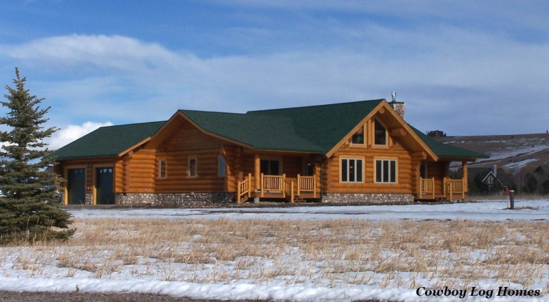 january 1st log home photos