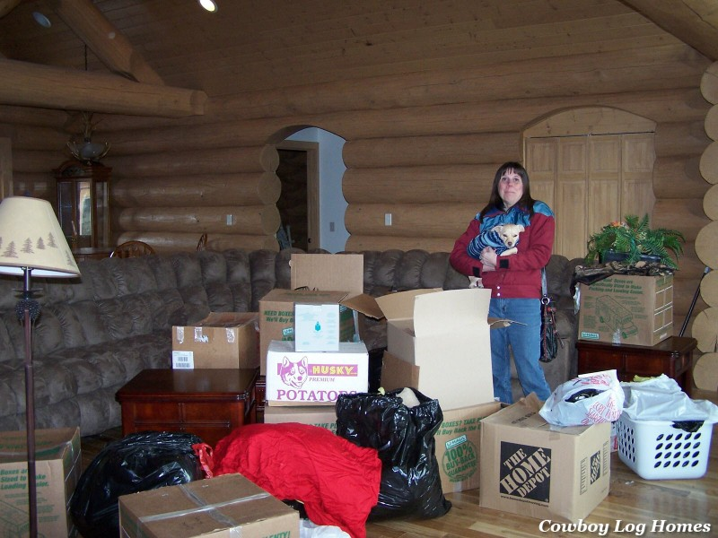 april 20th log home moving day