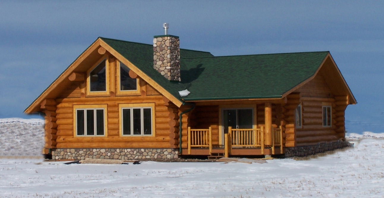Aspen Plan 1 876 Sq Ft Cowboy Log Homes