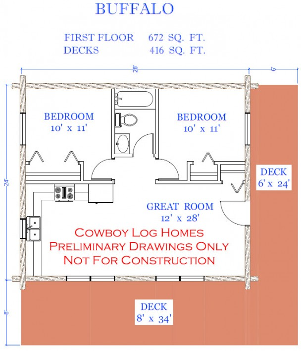 buffalo floor plan