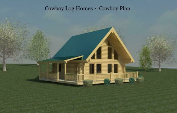 cowboy log home plan