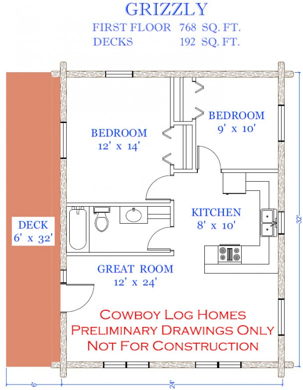 grizzly floor plan