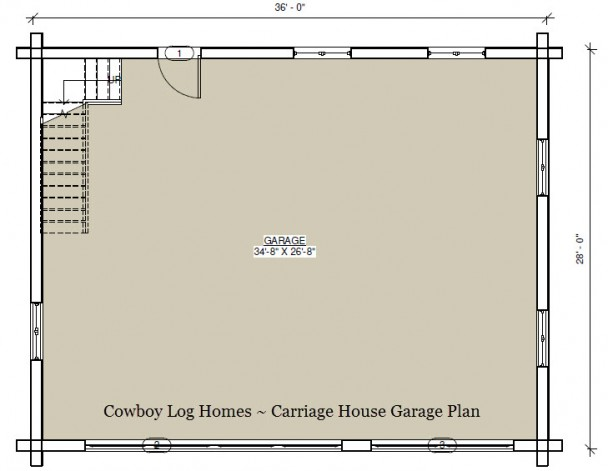 carriage house garage plan