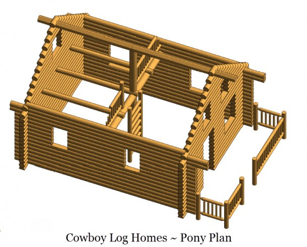 pony log shell